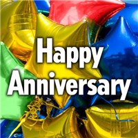 Happy Anniversary Mylar Balloon from Ingallina's Gifts