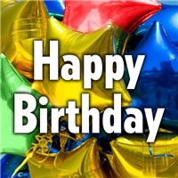 Happy Birthday Mylar Balloon from Ingallina's Gifts